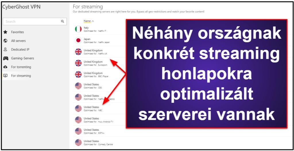 CyberGhost VPN Streaming & torrent