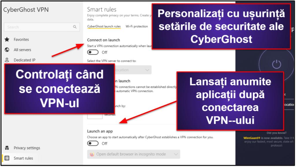Caracteristici CyberGhost