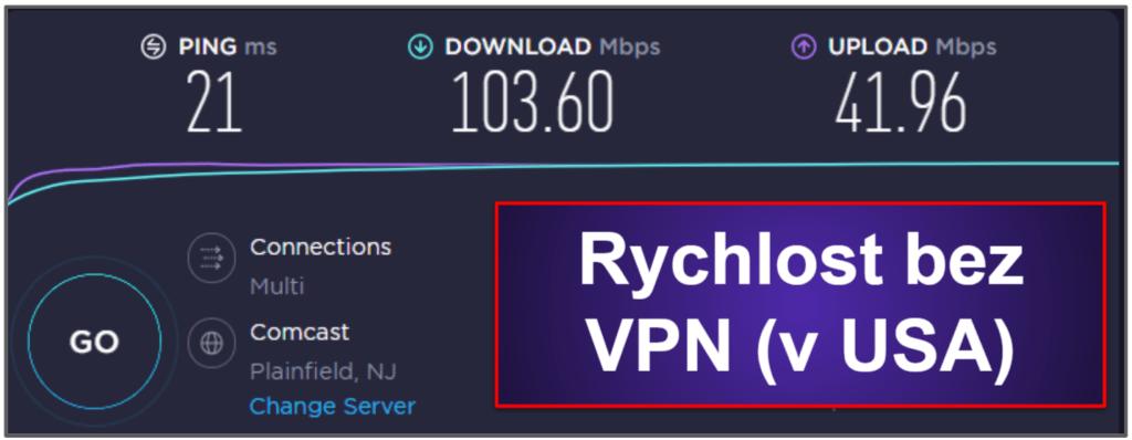 Rychlost a výkon CyberGhost VPN