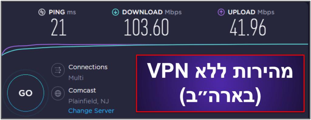 CyberGhost VPN – מהירות וביצועים