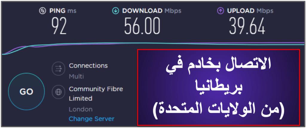 سرعة وأداء CyberGhost VPN