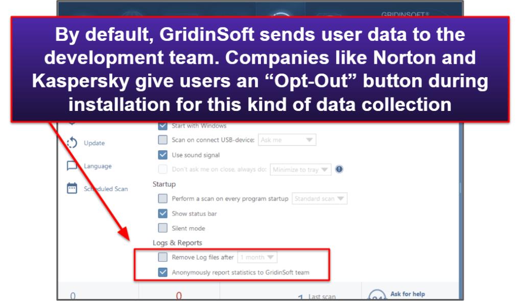 GridinSoft Ease of Use & Setup