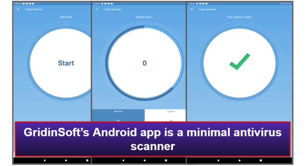 GridinSoft Mobile App