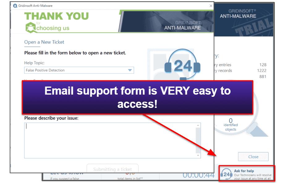 GridinSoft Customer Support