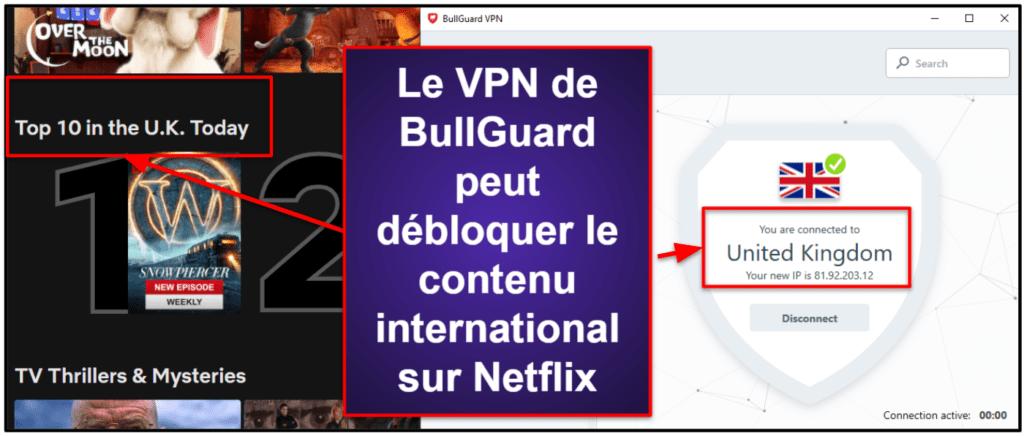 BullGuard: Fonctionnalités de sécurité