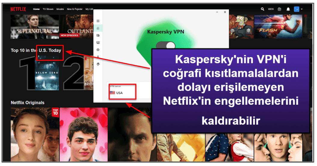 Kaspersky Güvenlik Özellikleri