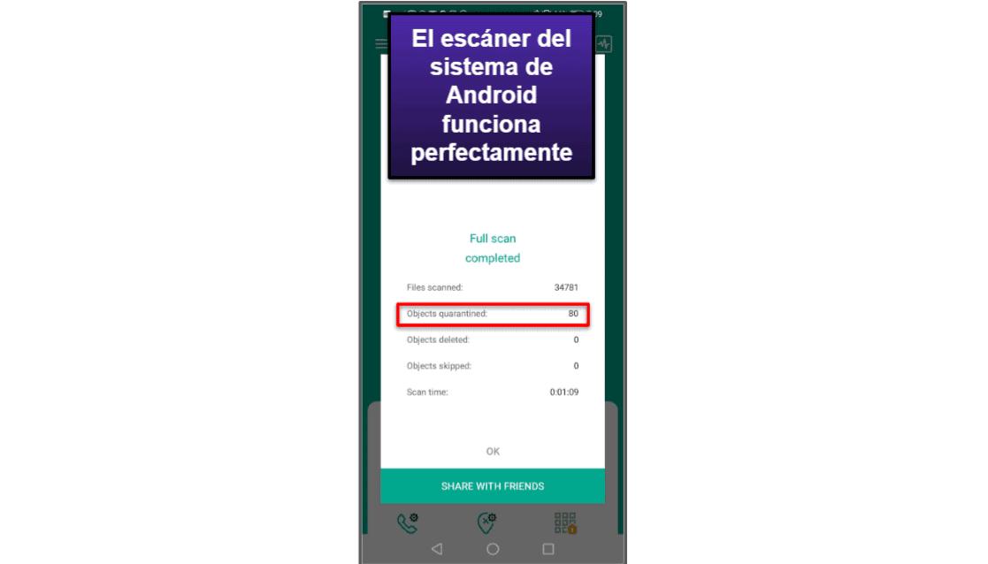 App móvil de Kaspersky