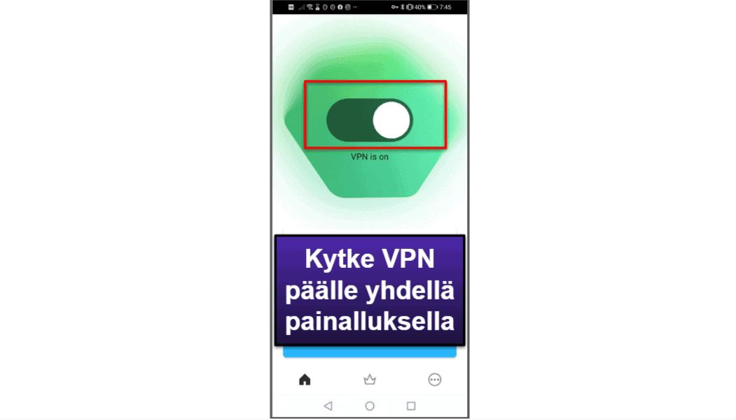 Kaspersky-mobiilisovellus