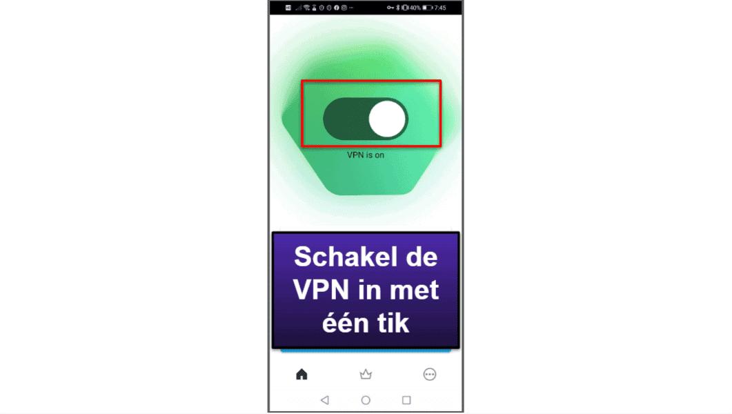 Kaspersky mobiele app