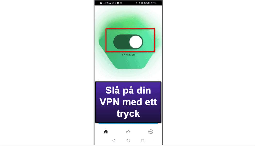 Kasperskys mobilapp