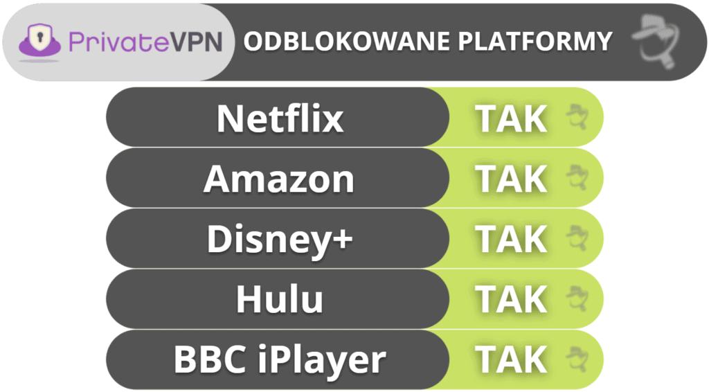 Streaming i korzystanie z torrentów na PrivateVPN