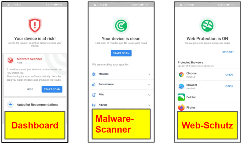 VIPRE – Mobile App