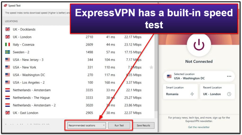 ExpressVPN vs. ProtonVPN: Extra Features