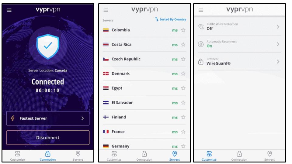 VyprVPN Ease of Use: Mobile & Desktop Apps