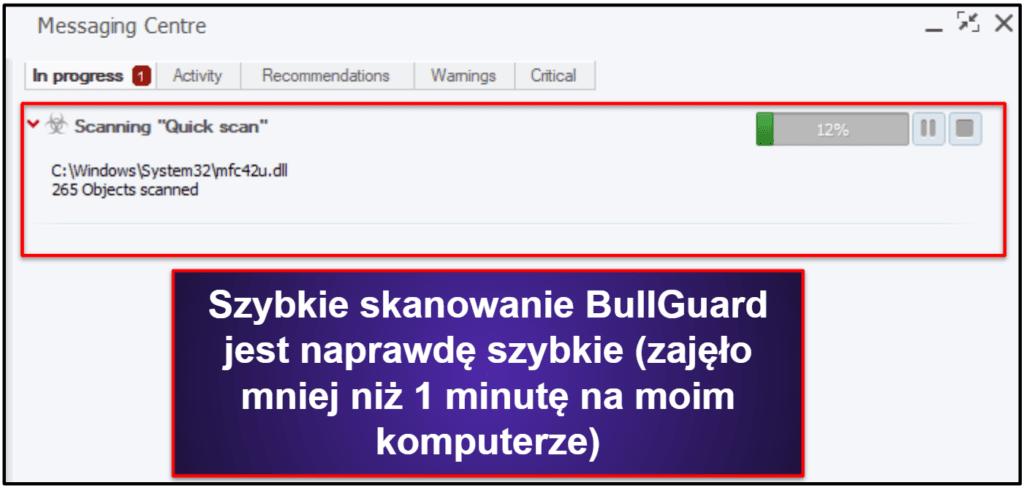 Funkcje bezpieczeństwa BullGuard