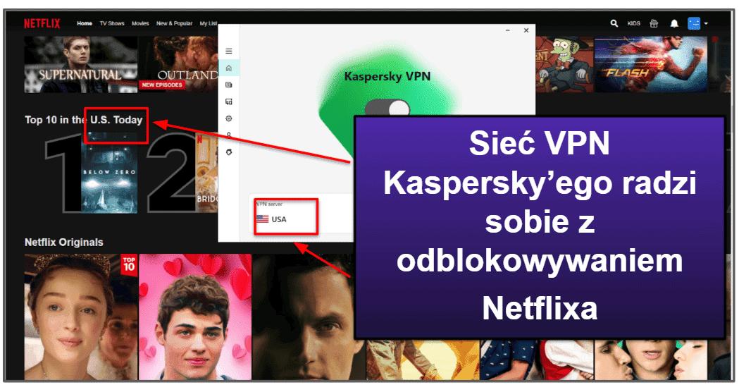 Funkcje bezpieczeństwa Kaspersky'ego
