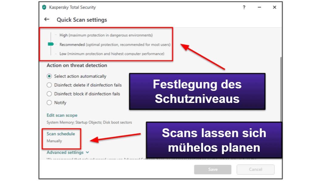 Kaspersky – Benutzerfreundlichkeit und Einrichtung