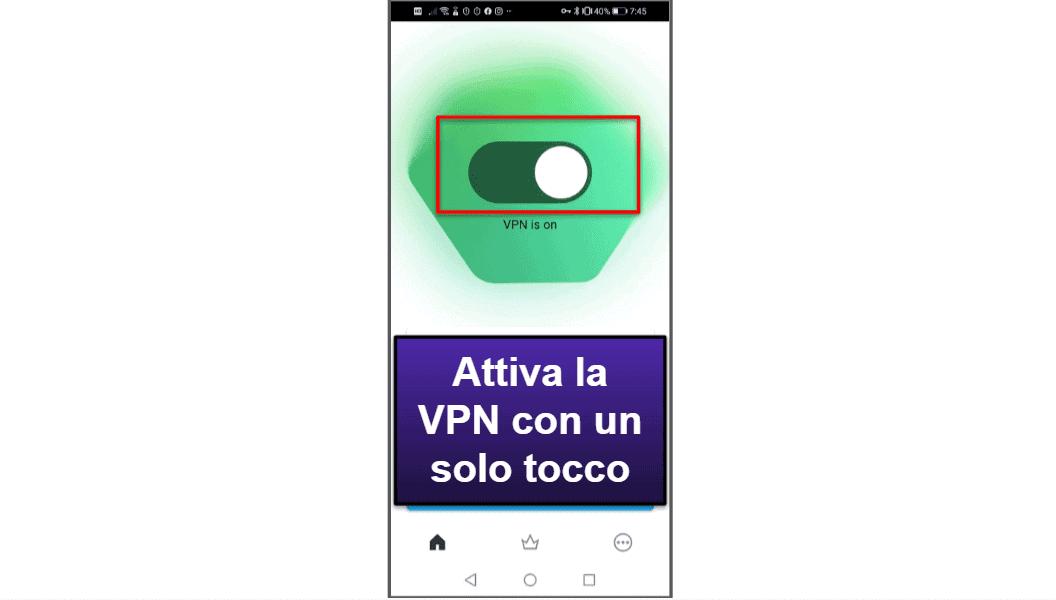 L'app mobile di Kaspersky