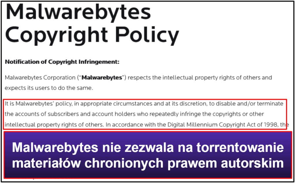 Funkcje bezpieczeństwa Malwarebytes