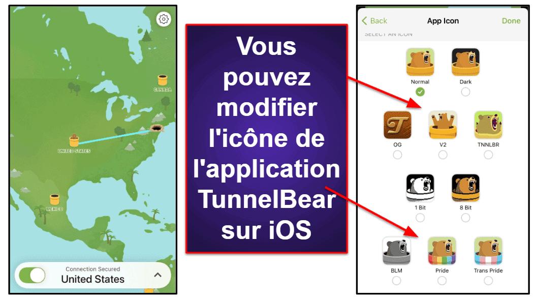 TunnelBear: Facilité d'utilisation (applis mobiles et de bureau)