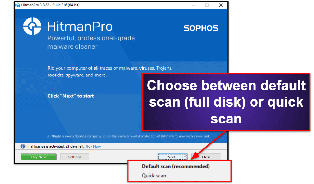 HitmanPro.AlertEase of Use and Setup