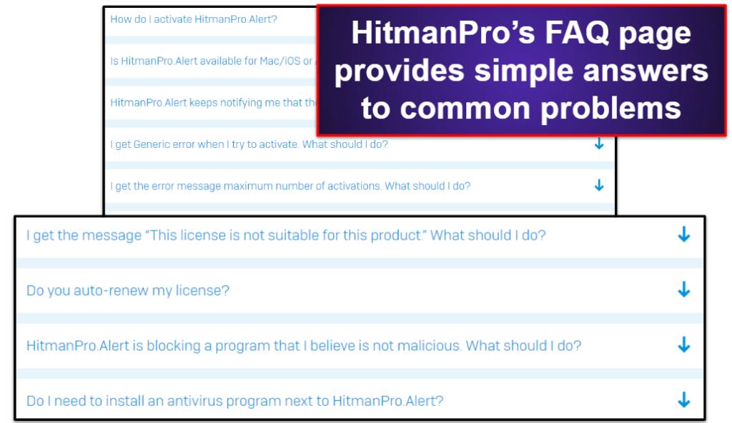 HitmanPro.AlertCustomer Support