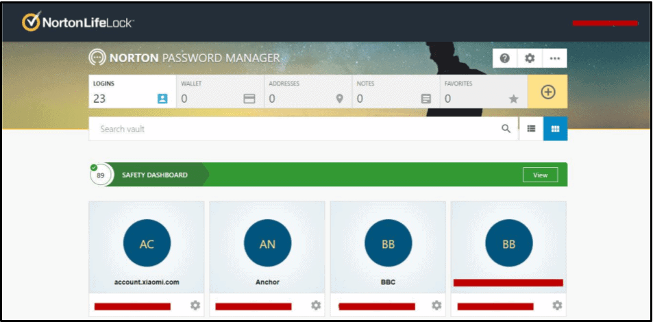 Análise completa do Norton Password Manager