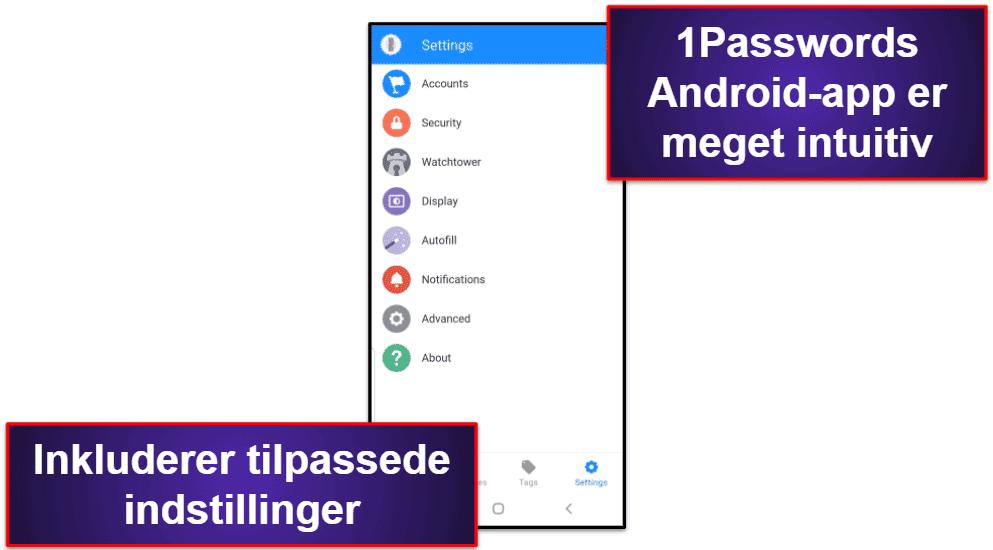 1Password mobilapp