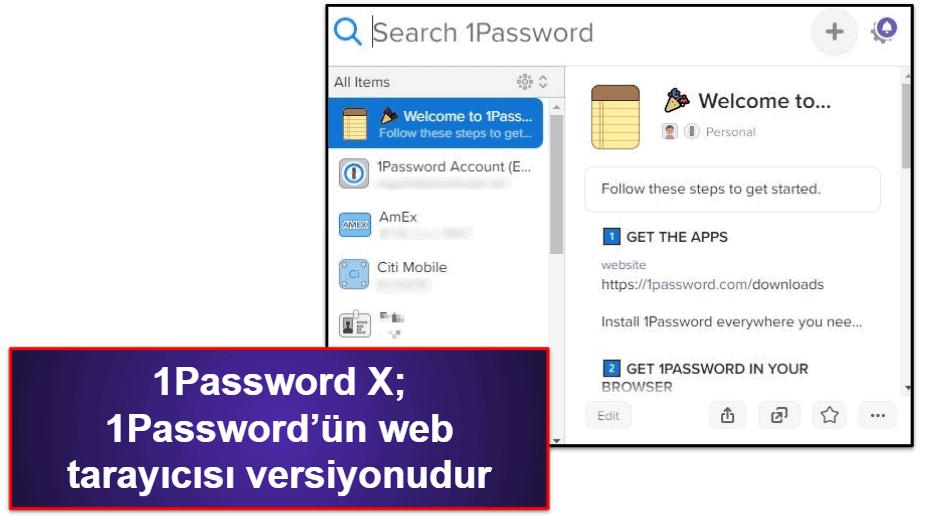 1Password Güvenlik Özellikleri
