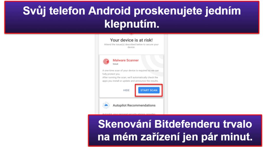 Mobilní aplikace Bitdefender
