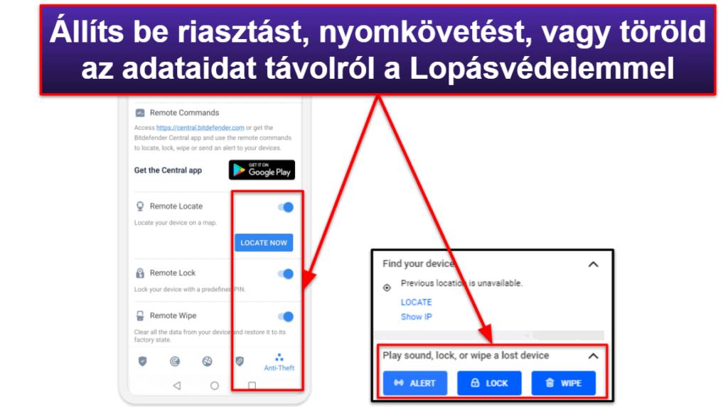 Bitdefender mobil alkalmazások