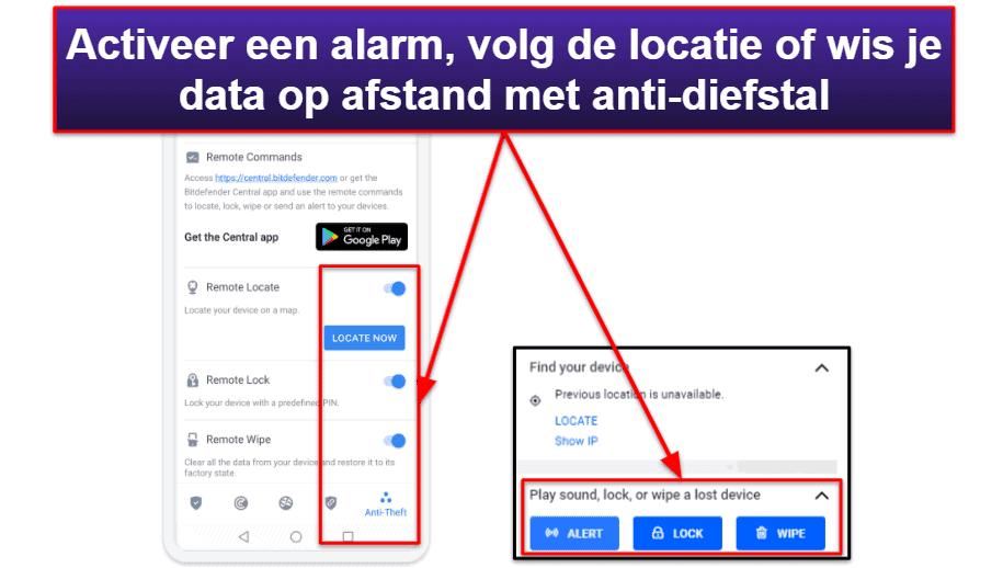 Bitdefender mobiele app