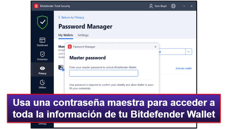 Características de Seguridad de Bitdefender