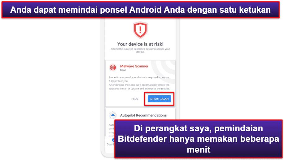 Aplikasi Seluler Bitdefender