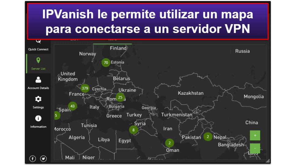Facilidad de Uso de IPVanish: Aplicaciones Móviles y de Escritorio en Español