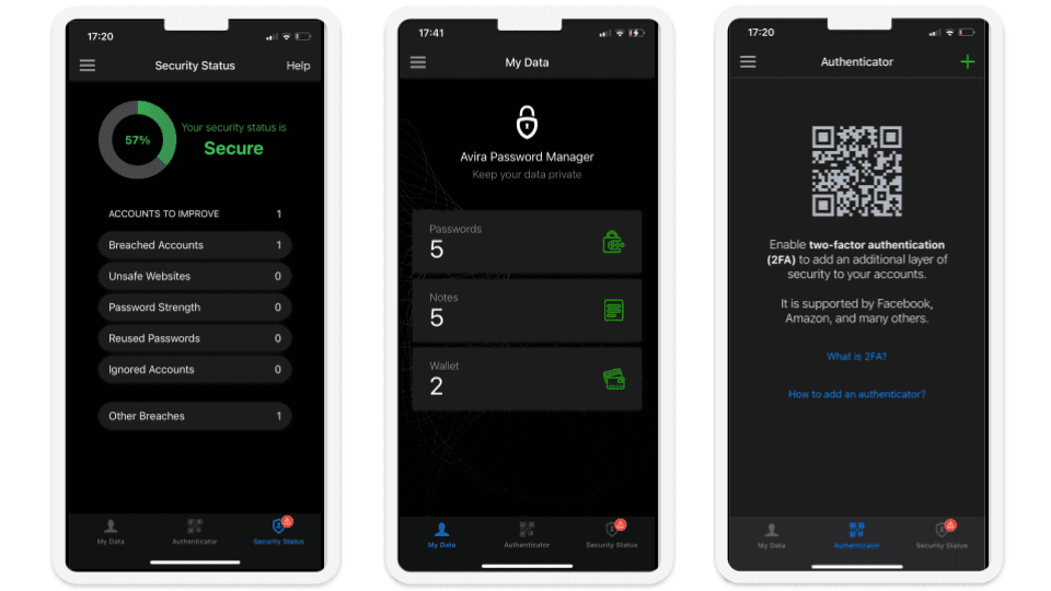 Avira Password ManagerMobile App