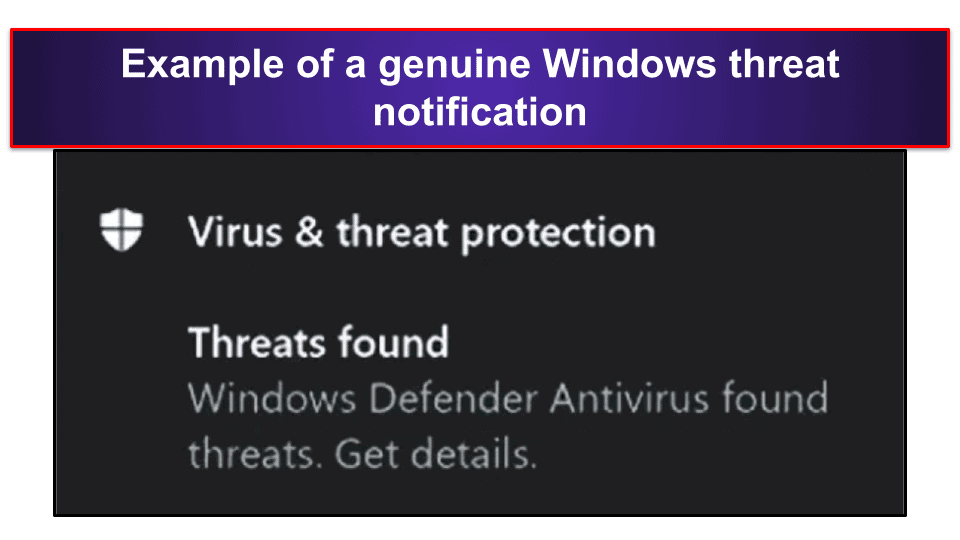"""Preliminary Step: Close the """"Virus Alert from Microsoft"""" Notification"""