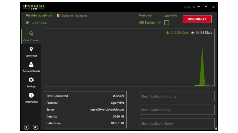 Đánh giá đầy đủ về IPVanish
