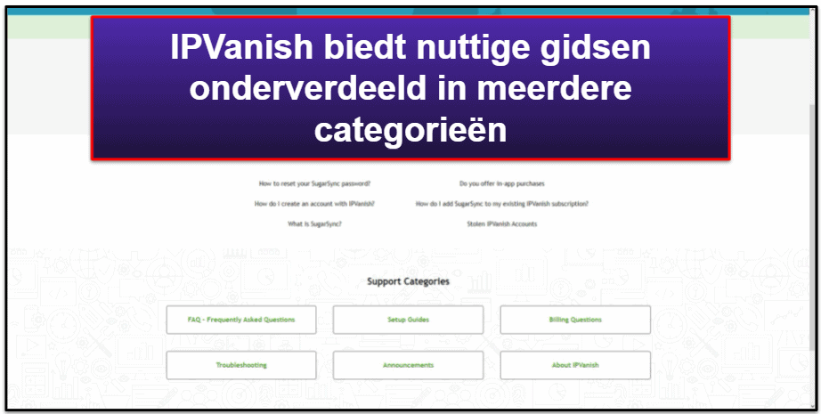 IPVanish klantenservice