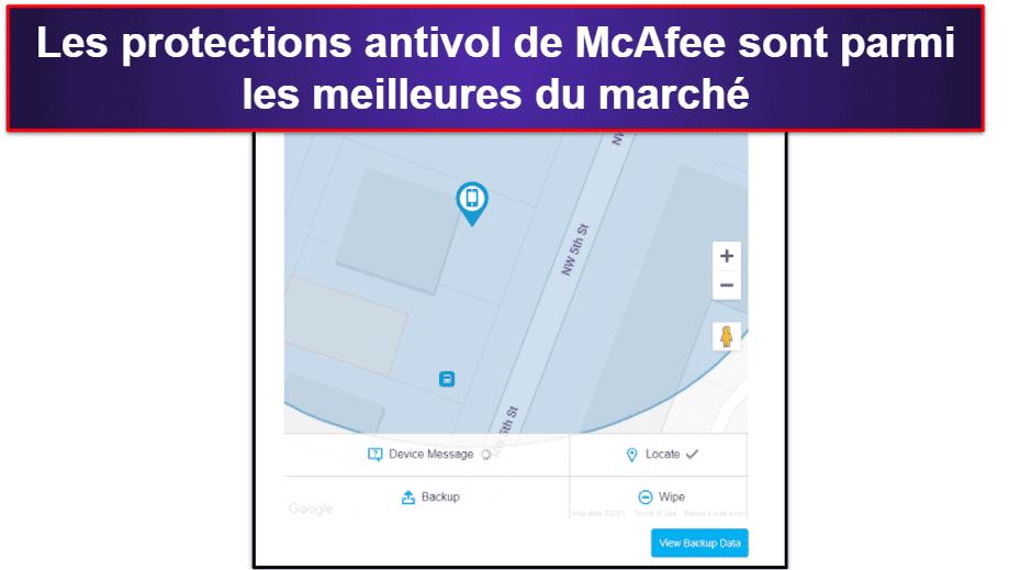 Appli mobile McAfee