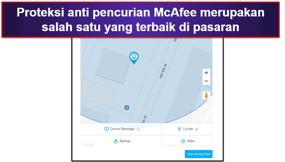 Aplikasi Mobile McAfee