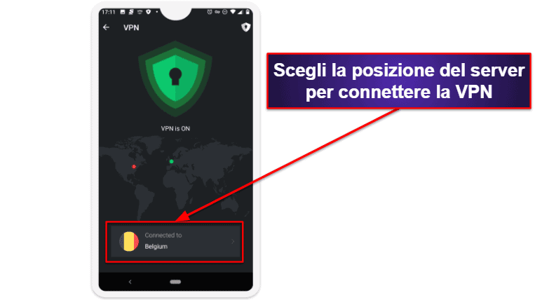 App per dispositivi mobili di TotalAV