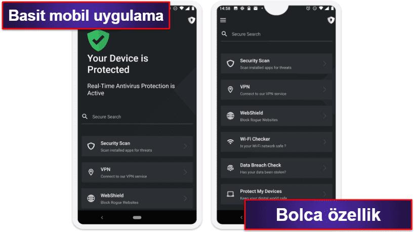 TotalAV Mobil Uygulaması