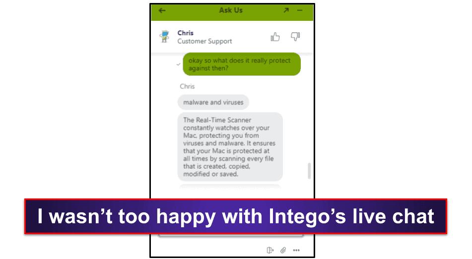 Intego Antivirus Customer Support