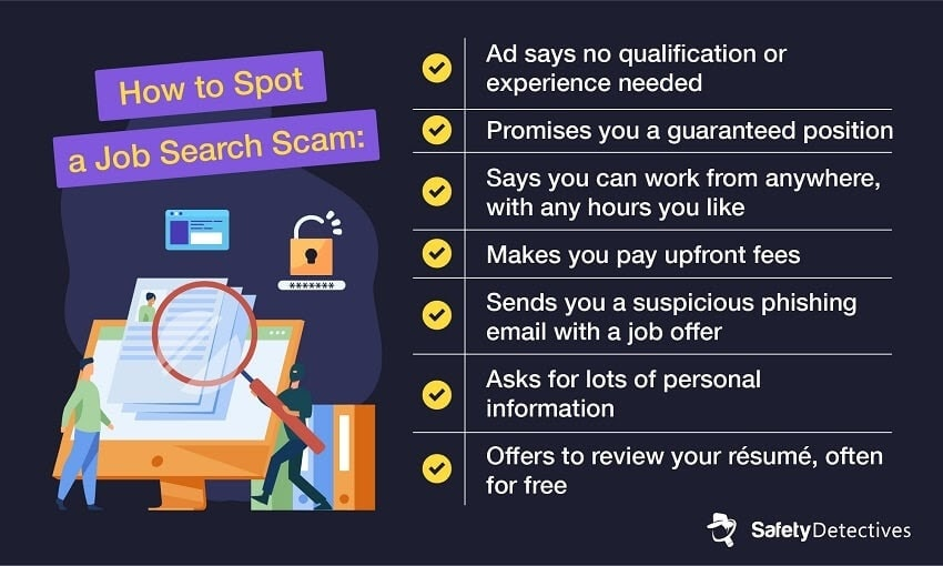Job Search Scams