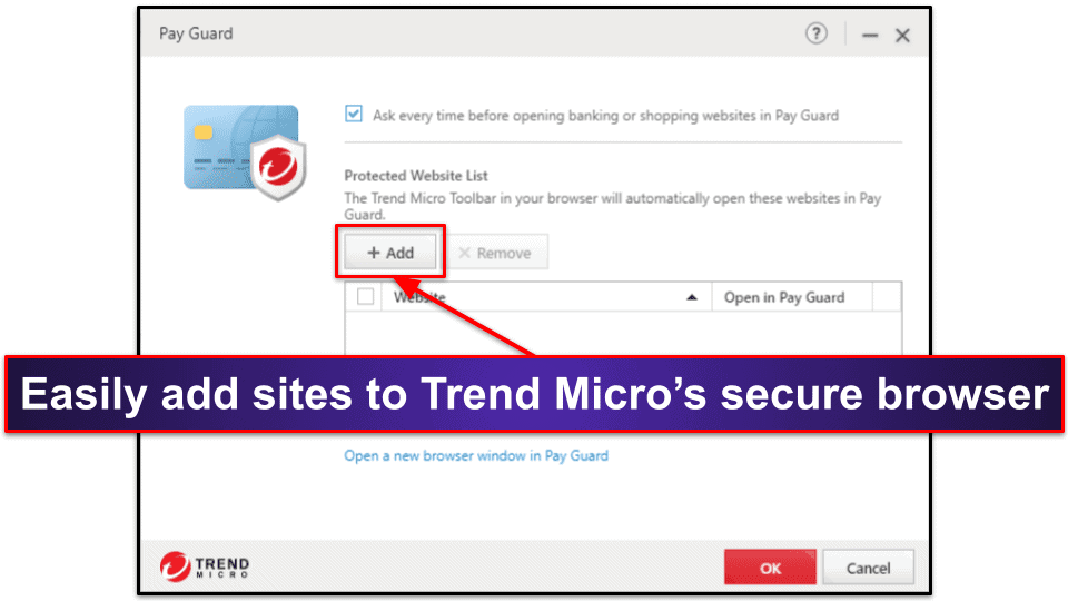 Trend Micro Ease of Use and Setup