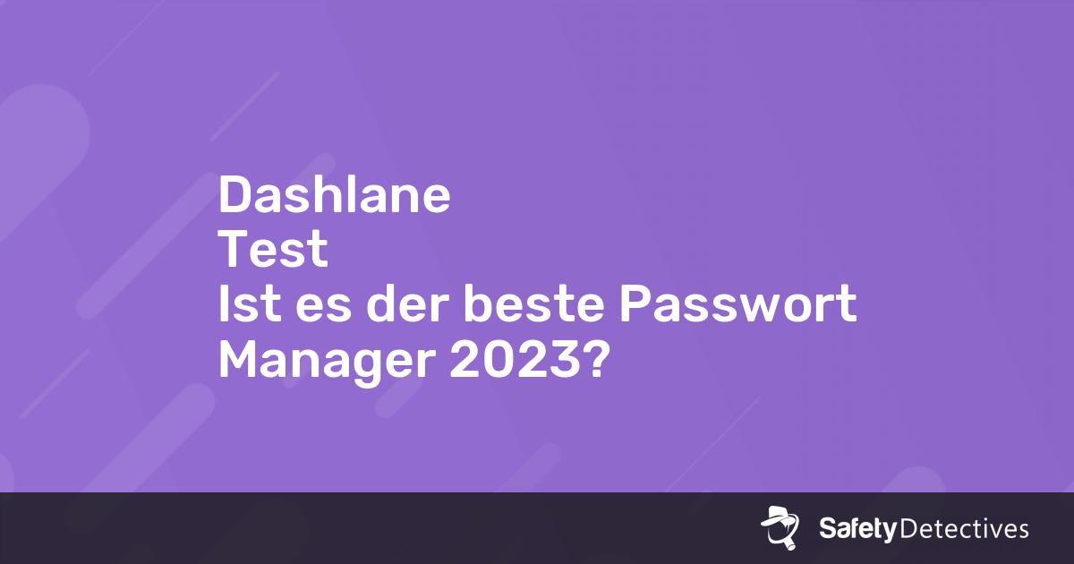 Beste Passwort Manager